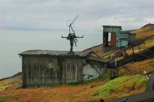 Antenna station, Barentsburg, Svalbard