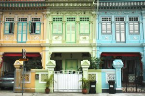 Shophouses in Katong, Singapore